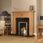 Timber Fireplace