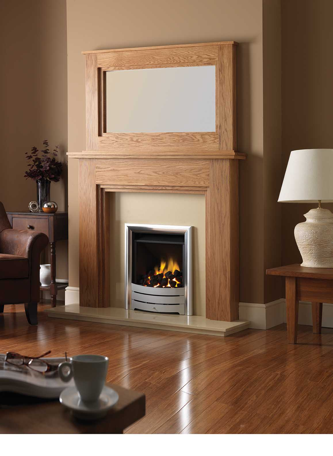 timber fireplaces