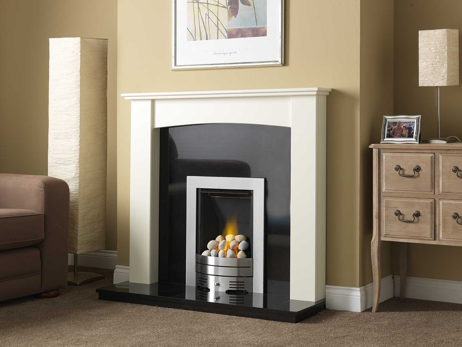 how to paint a wooden fireplace surround round designs