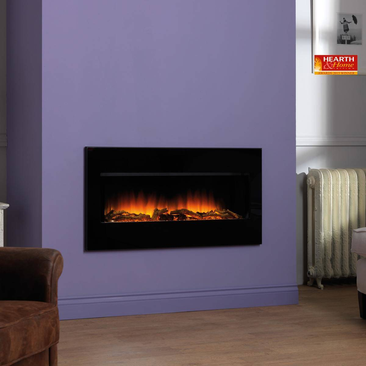Wall mounted electric fires fireplaces direct perth gas wall mounted electric fires publicscrutiny Images