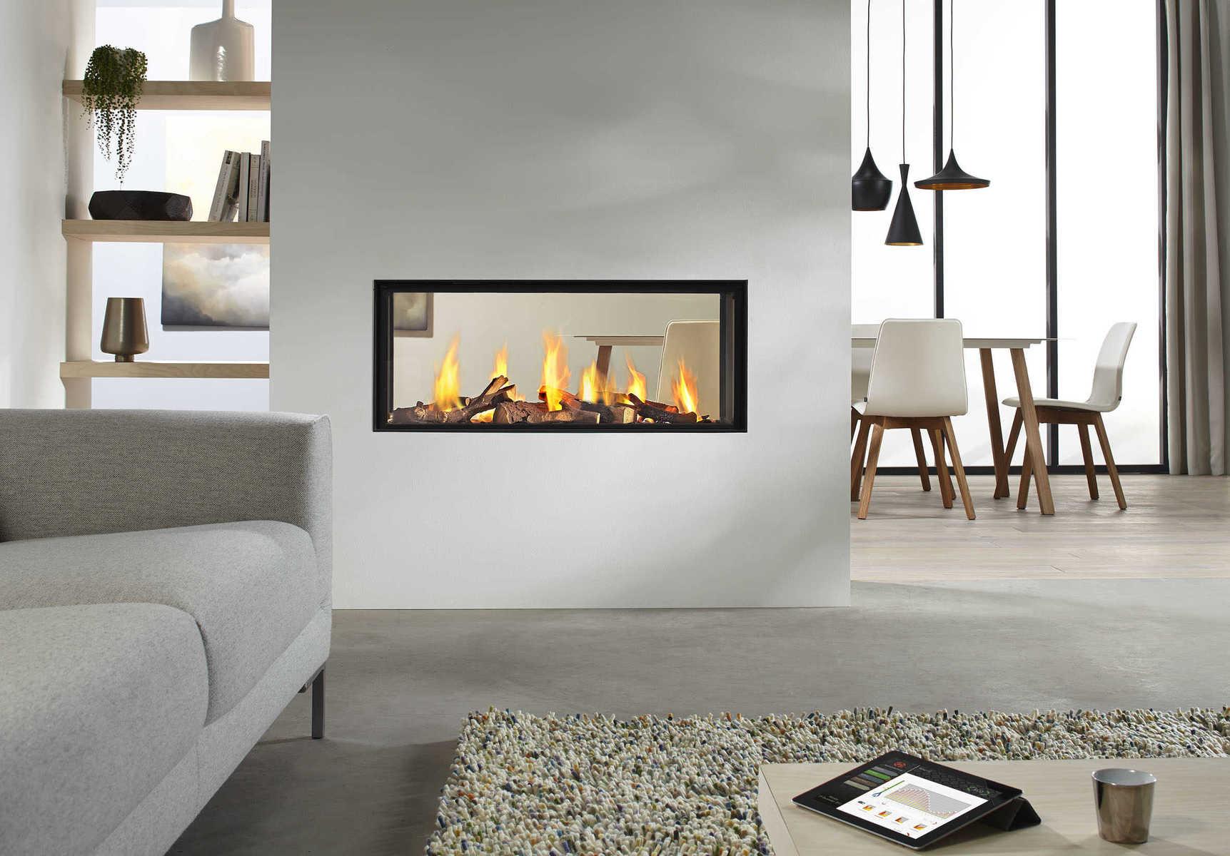 wall dividing fire